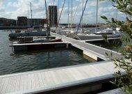 Steigers jachthaven IJburg Accoya vlonderplanken