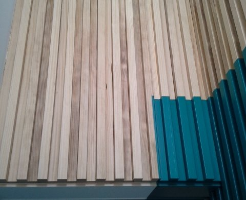 Accoya gevelbekleding Amsterdam + coating