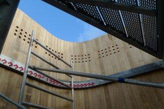 Melarium Delft binnenkant opbouwen
