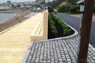 Accoya project Noorwegen 3 vlonderdelen