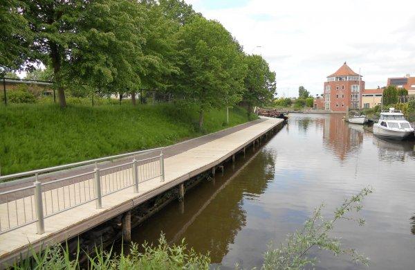 Jachthaven Steenbergen vlonderplanken