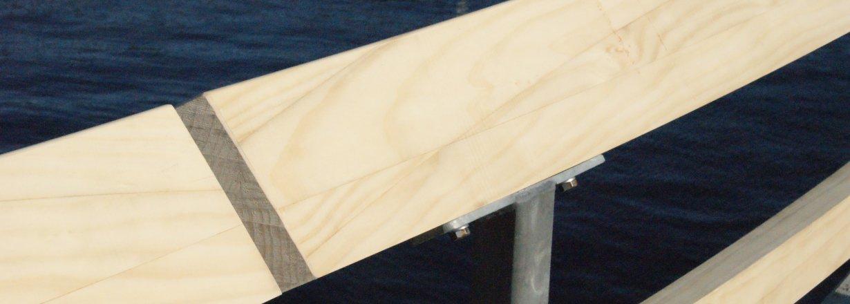railing Azuurjuffer